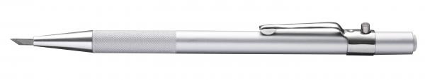 Druckknopfmesser Aluminium, 45° Klinge