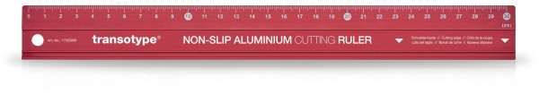 Aluminium-Schneidelineal, rutschfest